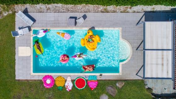 El momento adecuado para construir una piscina